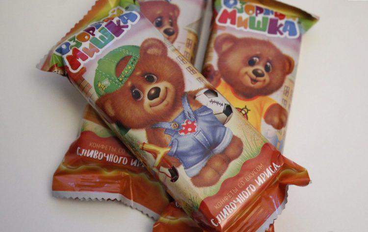 Конфеты Сормовская кондитерская фабрика Озорной мишка — отзывы