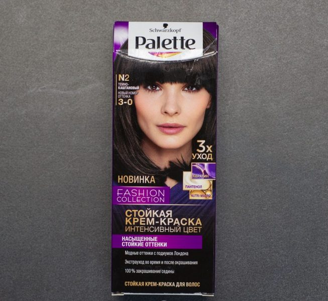 Краска для волос Palette Темный каштан — отзывы
