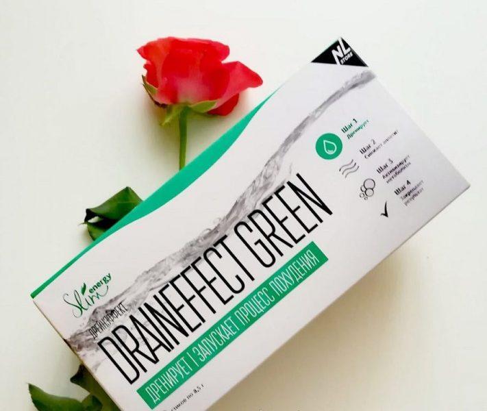 Напиток дренирующий NL International Draineffect green — отзывы