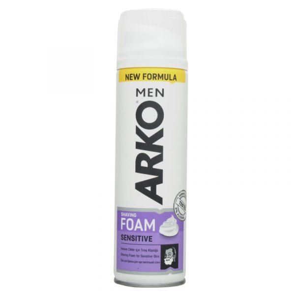 Пена для бритья Arko men sensitive new formula — отзывы
