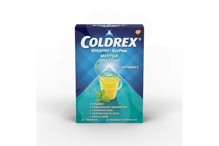Лекарственное средство Колдрекс Ментол актив — отзывы
