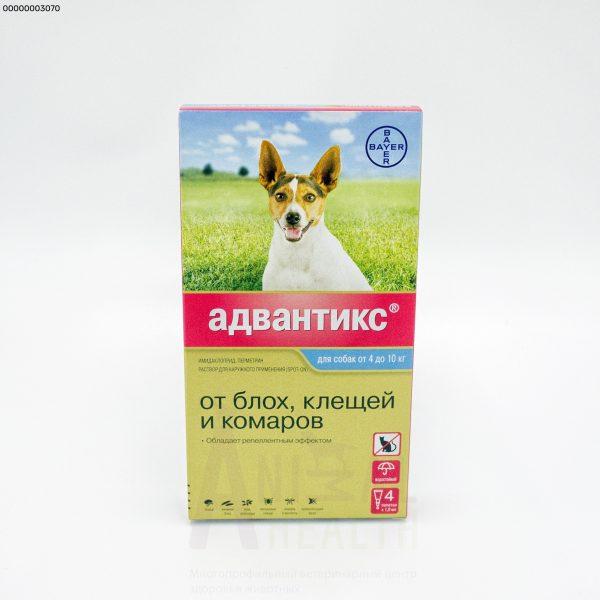 Капли Вауег Advantix на холку для собак от блох и клещей — отзывы