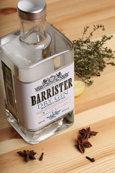 Джин Barrister Dry Gin — отзывы