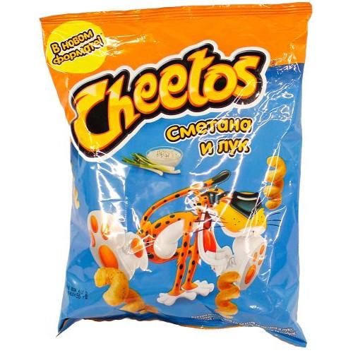 Кукурузные снеки Cheetos — отзывы