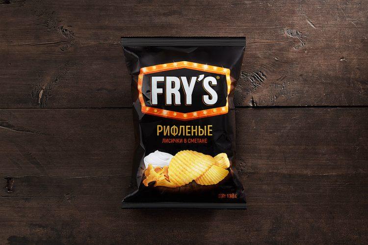Картофельные чипсы FRY'S — отзывы