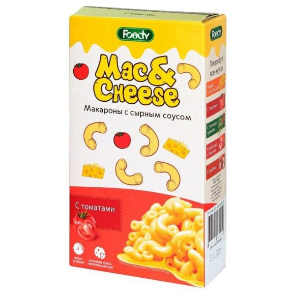 Макароны Foody Mac Cheese с сырным соусом — отзывы