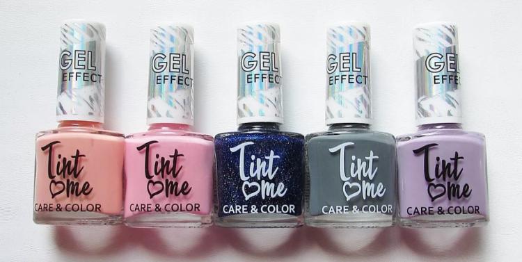 Лак для ногтей Tint Me Care&Color — отзывы