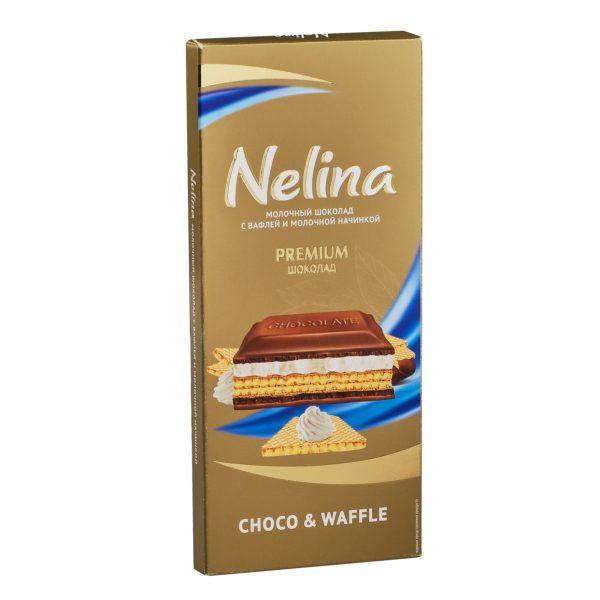 Молочный шоколад Choco&wafle Nelina — отзывы