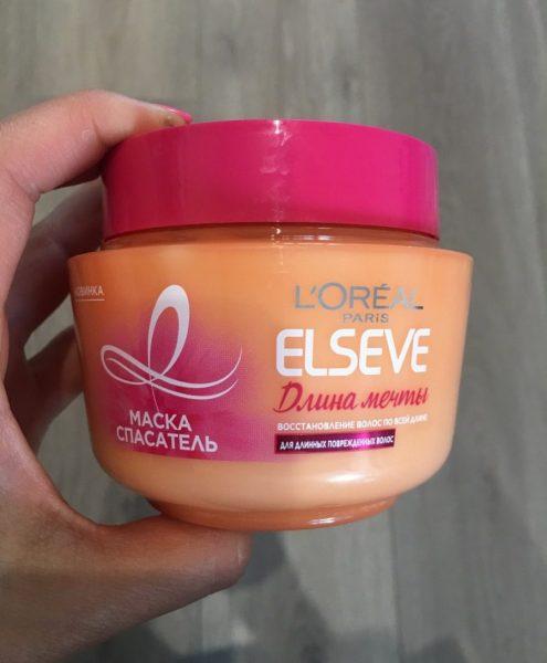Маска-спасатель L'Oreal Elseve Длина мечты для длинных поврежденных волос с кератином — отзывы