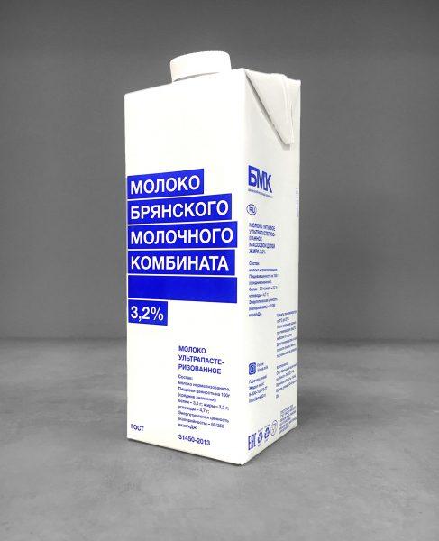 Молоко Брянского Молочного Комбината 3,2% — отзывы
