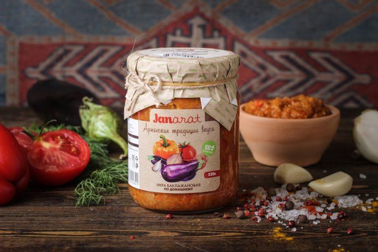 Овощи испеченные Janarat Армянские традиции вкуса — отзывы