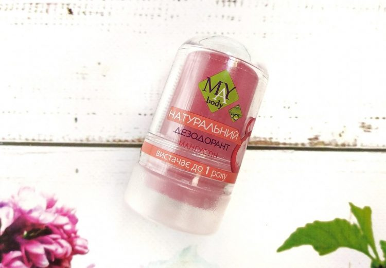 Минеральный дезодорант MAY body — отзывы