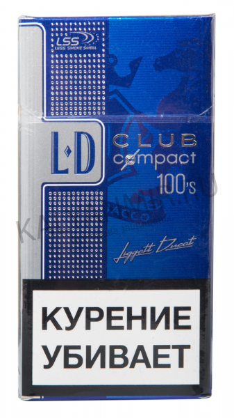 Сигареты LD compact 100'S Blue — отзывы