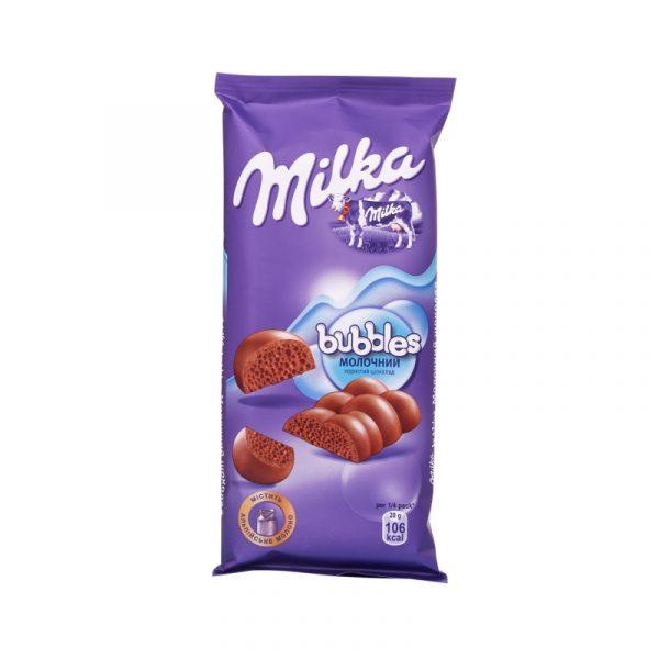 Пористый шоколад Milka Bubbles — отзывы