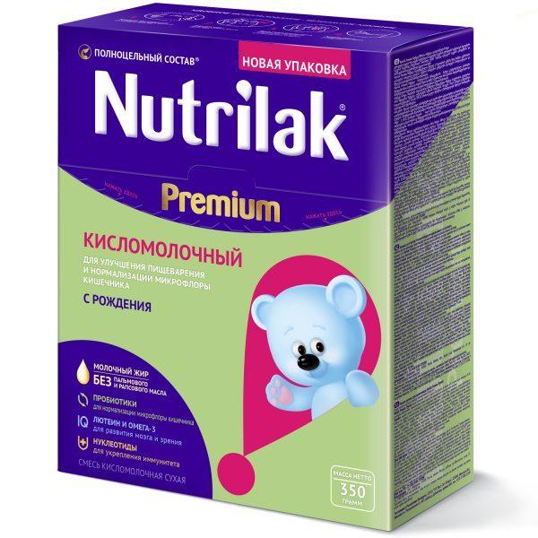 Смесь Nutrilak Premium кисломолочный — отзывы