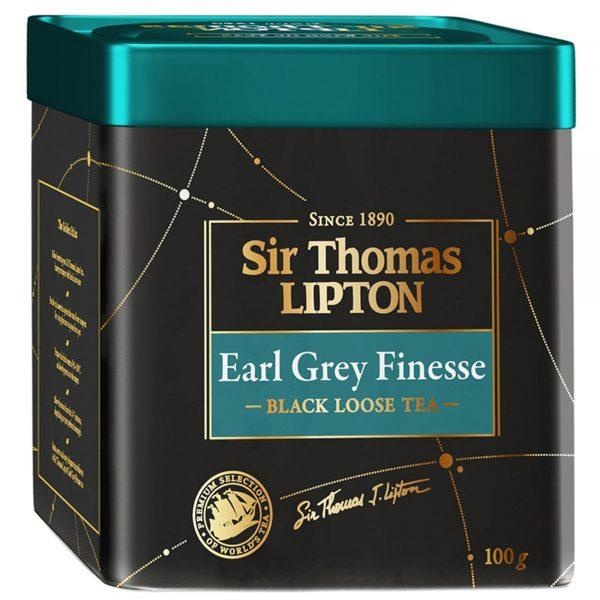 Чай черный ароматизированный Sir Thomas Lipton Earl Grey Finesse — отзывы