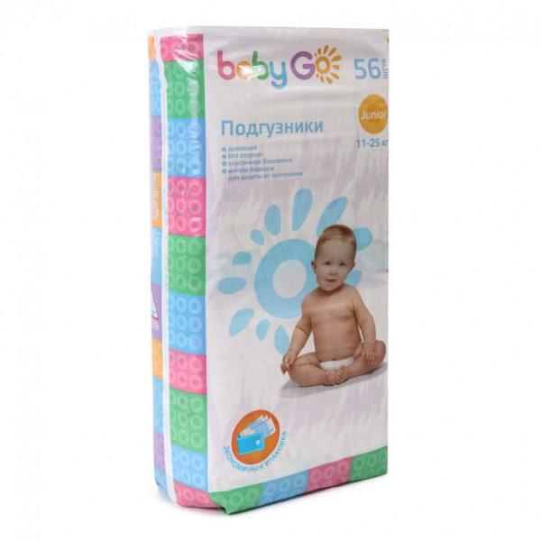 Подгузники Baby Go — отзывы