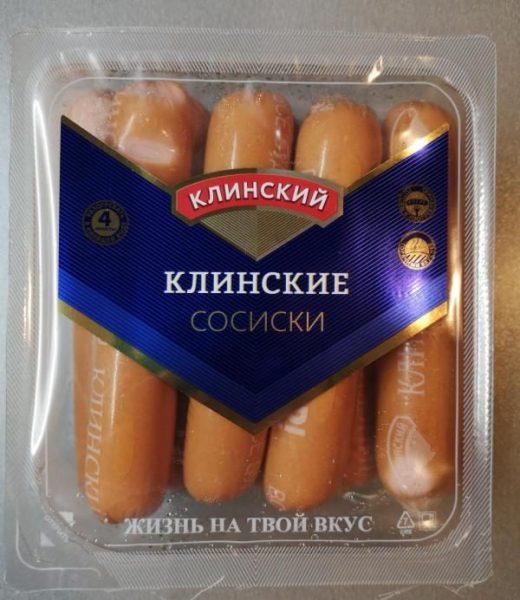 Сосиски Клинский мясокомбинат Клинские — отзывы