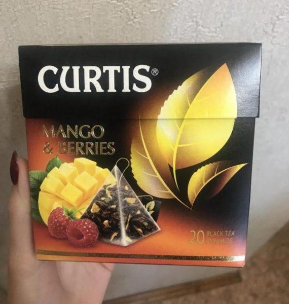 Чай черный ароматизированный Curtis Mango & Berries — отзывы