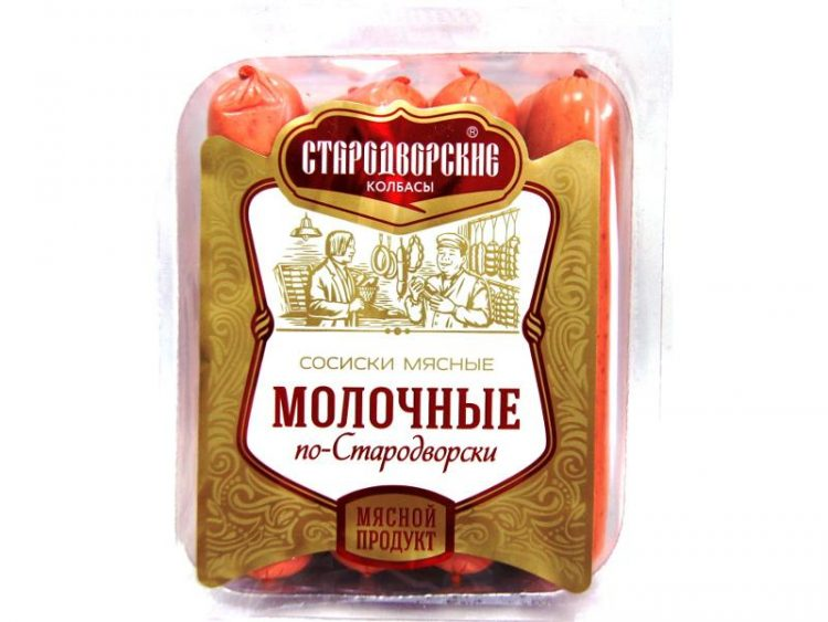 Сосиски молочные Стародворские колбасы По-Стародворски — отзывы