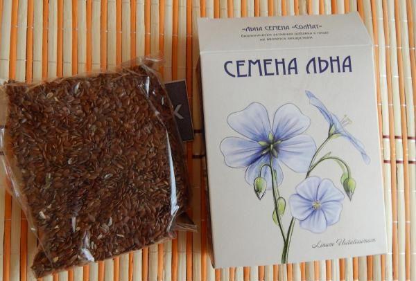 Семена льна Натуральные масла — отзывы