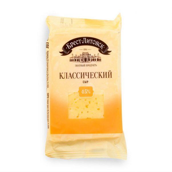 Сыр полутвердый Брест-Литовск Классический — отзывы
