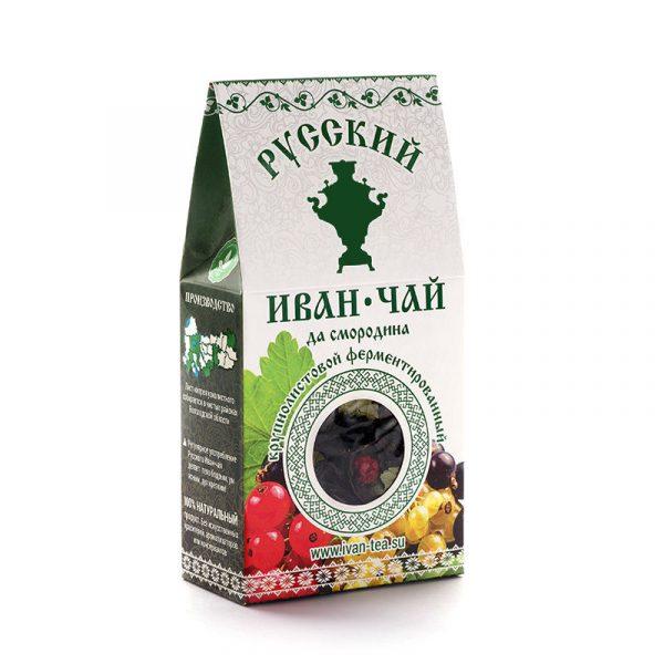 Чай Русский чай Иван-чай да смородина — отзывы