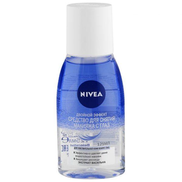 Средство для снятия макияжа с глаз Nivea с экстрактом василька — отзывы