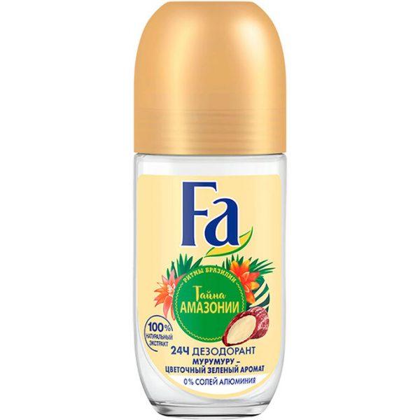Роликовый дезодорант Fa Тайна Амазонии — отзывы