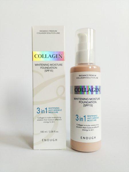 Тональный крем Enough Collagen 3 in1 — отзывы