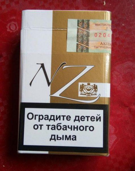 Сигареты NZ — отзывы
