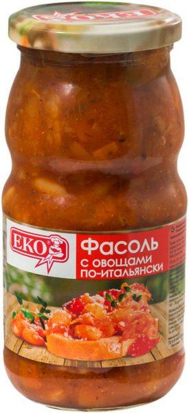 Фасоль с овощами по-итальянски EKO — отзывы