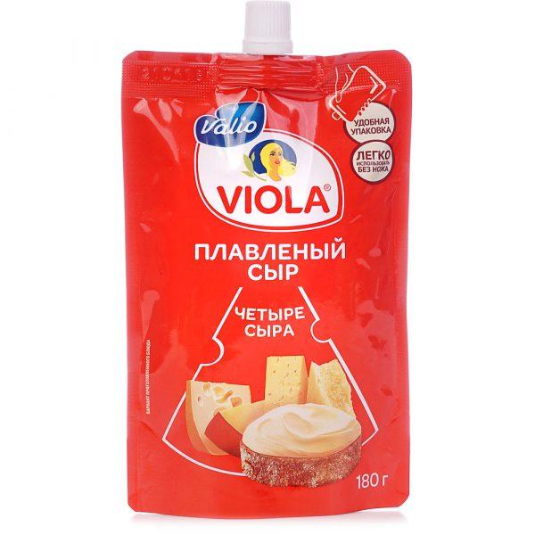 Сыр плавленый Viola Четыре сыра — отзывы
