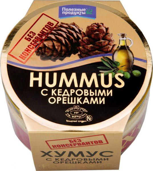 Хумус Полезные продукты с кедровыми орешками — отзывы