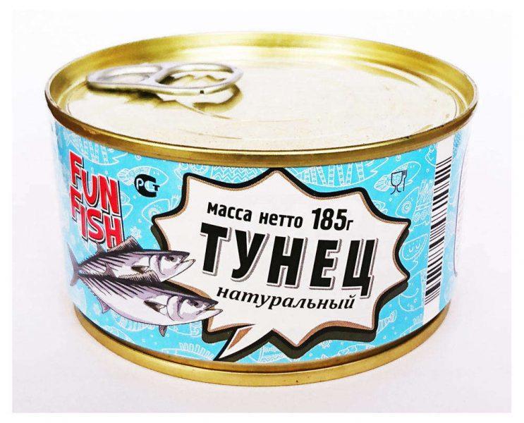 Тунец Fun fish натуральный в масле — отзывы