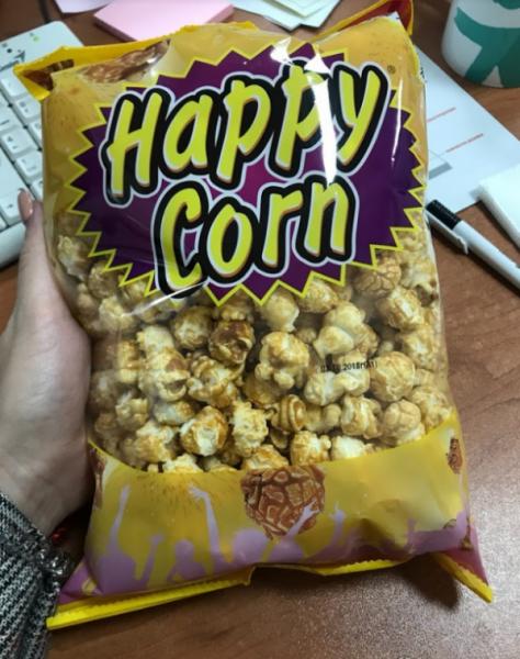 Попкорн Happy Corn — отзывы