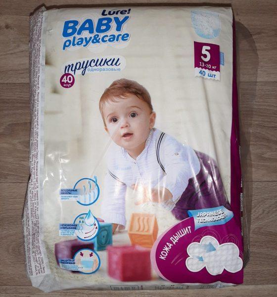 Подгузники трусики Lure Baby Play&Care — отзывы