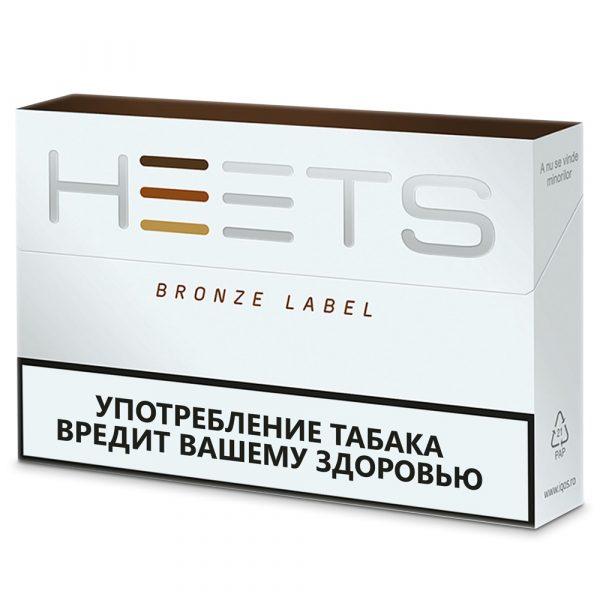 Табачные стики Heets Bronze Label для IQOS — отзывы