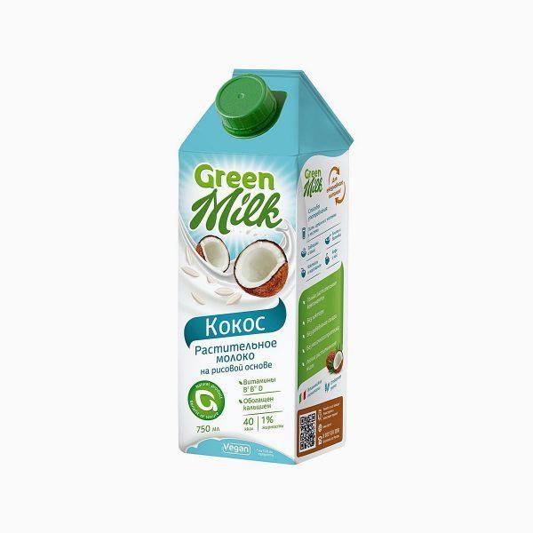 Растительный напиток Green Milk Кокос на рисовой основе — отзывы