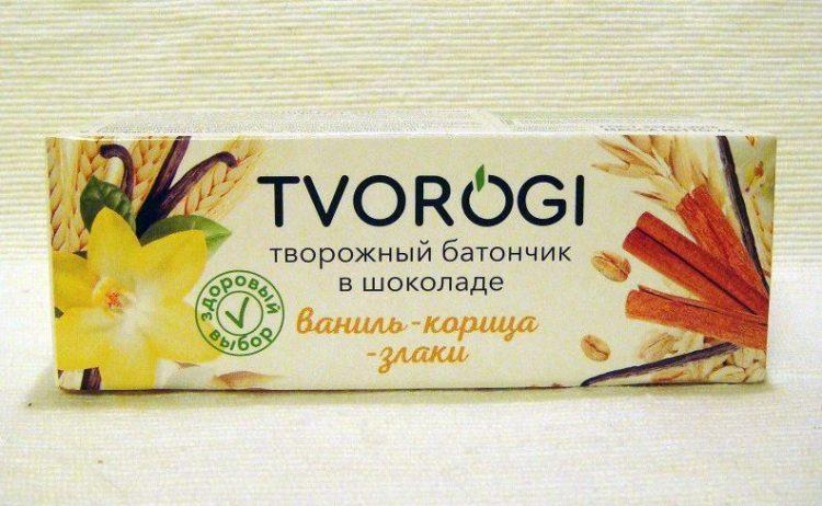 Сырок творожный с ванилью, корицей и злаками TVOROGI — отзывы