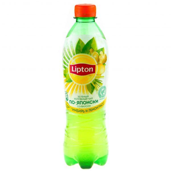 Чай Lipton по-японски со вкусом имбиря и лемонграсса — отзывы