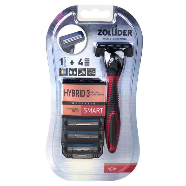 Станок для бритья Zollider Hibrid 3 Smart — отзывы