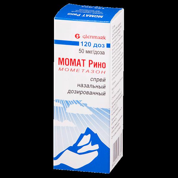 Спрей назальный Glenmark Pharmaceuticals Момат Рино мометазон — отзывы