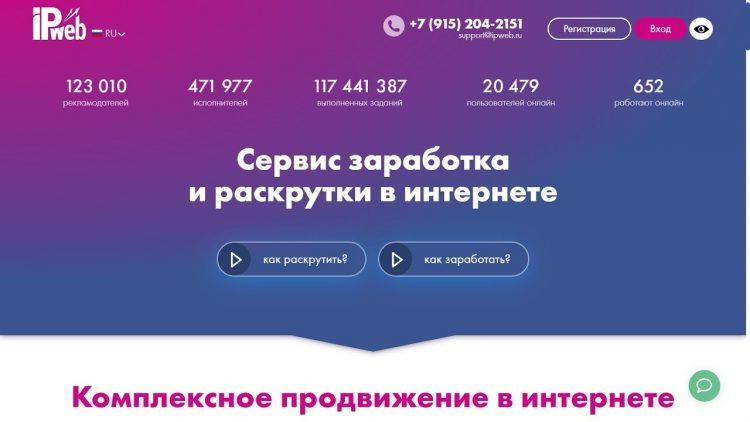 Сервис IPweb — отзывы