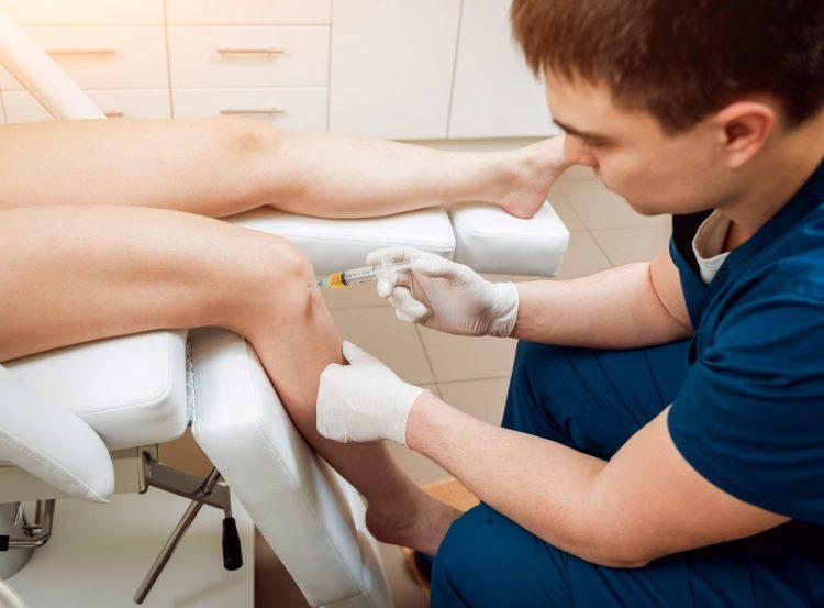 Процедура внутрисуставной инъекции в коленный сустав — отзывы