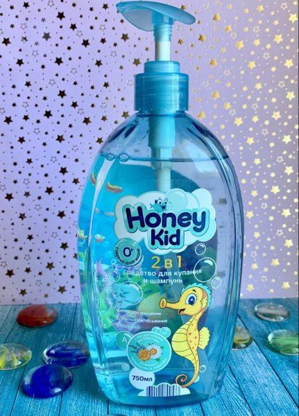Средство для купания и шампунь Honey kid — отзывы