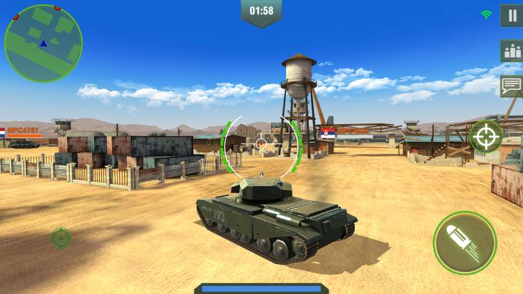 Игра для Android Танки онлайн — отзывы